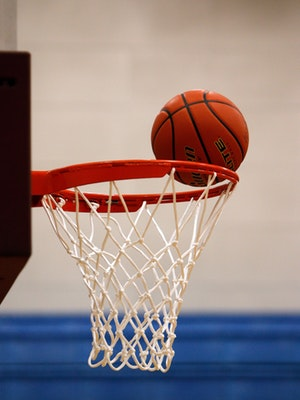 basket ball and goal